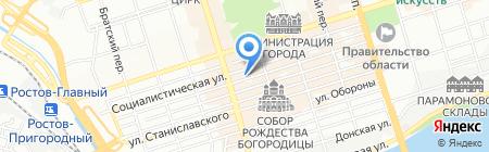 Велл на карте Ростова-на-Дону