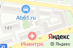 Схема проезда до компании Coffee61.ru в Ростове-на-Дону