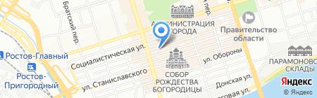 Профи на карте Ростова-на-Дону