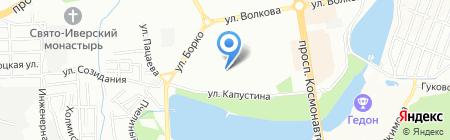 Финист на карте Ростова-на-Дону