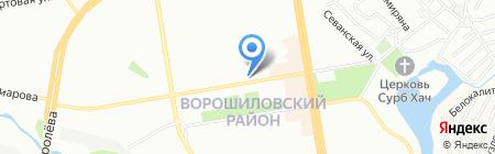 Титул на карте Ростова-на-Дону