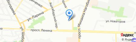 Детский сад №132 на карте Ростова-на-Дону