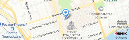 Фрейлина на карте Ростова-на-Дону