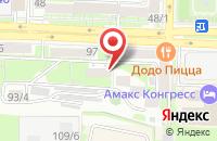 Схема проезда до компании Донской кредит в Ростове-на-Дону