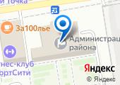 Объединенная диспетчерская служба Ворошиловского района на карте
