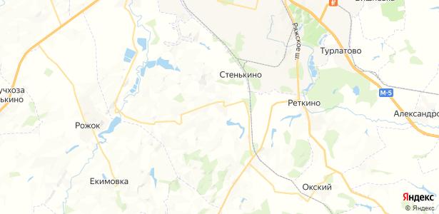 Ровное на карте