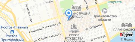Детский сад №80 на карте Ростова-на-Дону