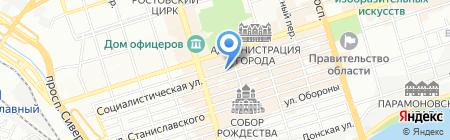 Приоритет на карте Ростова-на-Дону
