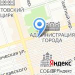 Эконика на карте Ростова-на-Дону