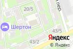 Схема проезда до компании Служба сервиса складской техники в Ростове-на-Дону