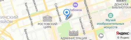 Мадрид на карте Ростова-на-Дону