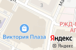 Схема проезда до компании Дива в Рязани
