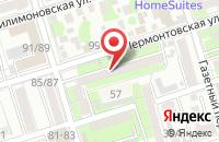 Схема проезда до компании Баг в Ростове-На-Дону