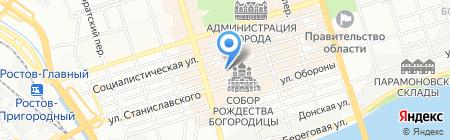 А-Стор на карте Ростова-на-Дону