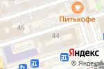 Схема проезда до компании Ростобрнадзор в Ростове-на-Дону
