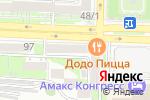 Схема проезда до компании Гастроном Ростов в Ростове-на-Дону