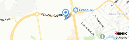 Портноff на карте Ростова-на-Дону