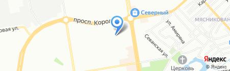 Управление социальной защиты населения Ворошиловского района на карте Ростова-на-Дону