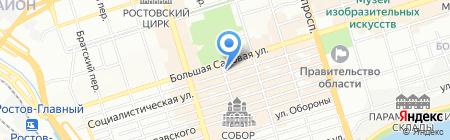 Эль Марше на карте Ростова-на-Дону