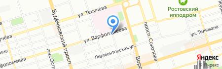 ДентаАрт на карте Ростова-на-Дону