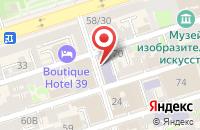 Схема проезда до компании Азимут в Ростове-На-Дону