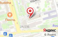 Схема проезда до компании Продвижение в Ростове-На-Дону