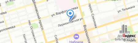 ЭлектроКлуб на карте Ростова-на-Дону