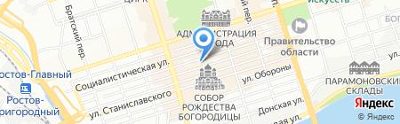 Чистый Дон на карте Ростова-на-Дону