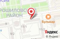 Схема проезда до компании FNC в Ростове-на-Дону