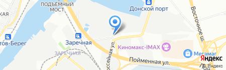 Бакалея на карте Ростова-на-Дону