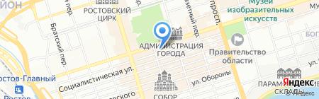 Бигудинка на карте Ростова-на-Дону