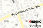 Схема проезда до компании Машенька в Ростове-на-Дону