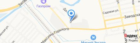 Ростовская областная станция по борьбе с болезнями животных с противоэпизоотическим отрядом на карте Батайска
