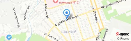 A.Brugeiro на карте Ростова-на-Дону