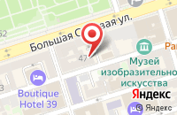 Схема проезда до компании Строители Южного Округа в Ростове-На-Дону