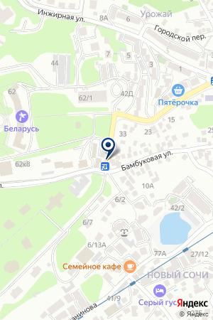 ИНЖЕНЕРНО-ЭКОЛОГИЧЕСКИЙ ФАКУЛЬТЕТ на карте Сочи