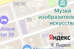 Схема проезда до компании Альбион в Ростове-на-Дону