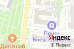 Схема проезда до компании Универсал М Сервис в Рязани