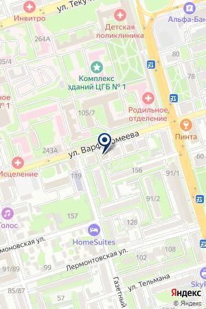 ТЗФ ВИА-ПЛЮС на карте Ростова-на-Дону