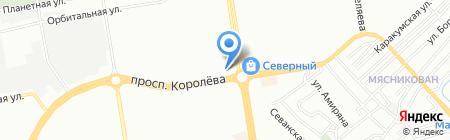 Хоттабыч на карте Ростова-на-Дону