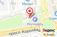 Схема проезда до компании Кит в Ростове-на-Дону