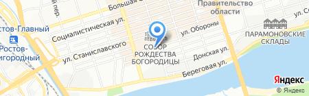 Адвокат на карте Ростова-на-Дону