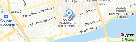 ААА Строй на карте Ростова-на-Дону