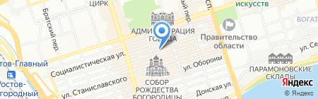 Волшебница на карте Ростова-на-Дону