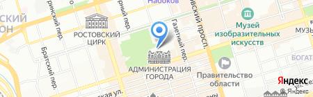 МайнеБазе на карте Ростова-на-Дону