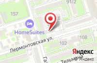 Схема проезда до компании Южный Центр Налогового Консультирования в Ростове-На-Дону