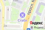 Схема проезда до компании Дары Камчатки в Ростове-на-Дону