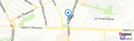 Мастер отдыха на карте Ростова-на-Дону