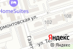 Схема проезда до компании Бизнес и право в Ростове-на-Дону
