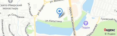 Лайнер Тур на карте Ростова-на-Дону